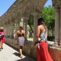 San Giovanni degli Eremiti - Chiostro  veduta degli archetti ogivali  - Foto archivio A.Gaetani