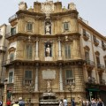 Piazza Villena (Quattro Canti) - foto A.Gaetani