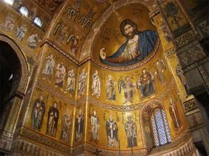 Monreale Cattedrale _ Cristo Pantocrator