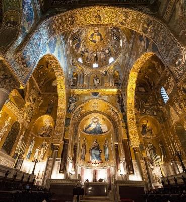 PALERMO A NE PAS MANQUER 1 –  ITINERAIRE UNESCO