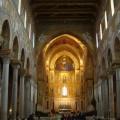 Duomo di Monreale  Navata centrale e Abside -  Foto archivio A.Gaetani