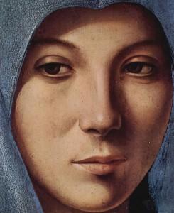 Museo Palazzo Abatellis - Antonello da Messina - l'Annunciata - foto archivio A.Gaetani
