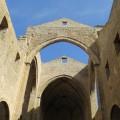 Chiesa dello Spasimo - veduta sugli archi delle volte- foto archivio Angela Gaetani