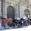 Corso Vittorio Emanuele - Calesse - Foto archivio A.Gaetani