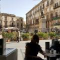 Piazza Bologni - Cafferia Museo Arte contemporanea Palazzo Riso - Foto archivio A.Gaetani