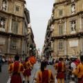 Piazza Villena (Quattro Canti) - Palermo in festa - Foto A.Gaetani