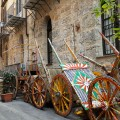Salita Artale  - carretti siciliani - foto A.Gaetani