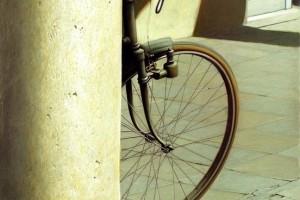 bicicletta_sitoVittorio Polidori (Viterbo 1945) La bicicletta e la Colonna
